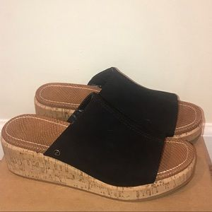 Brand new circus by Sam Edelman black suede sandal
